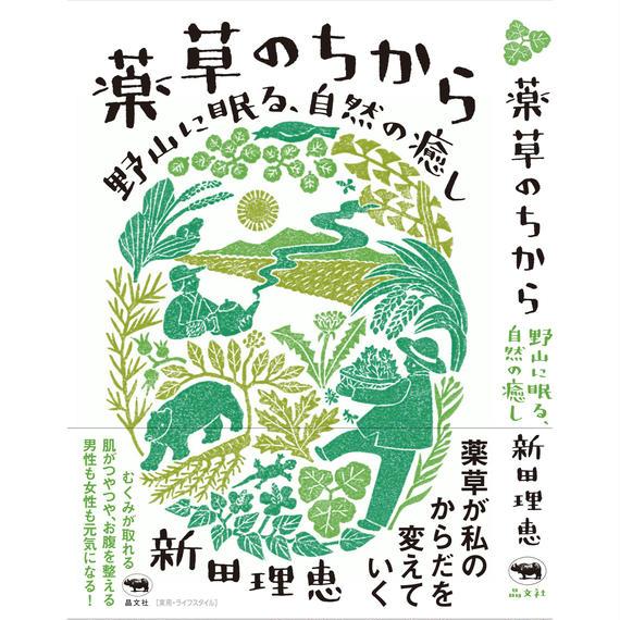 【初回限定】書籍「薬草のちから」 (飛騨のカヤの実&薬草茶付)