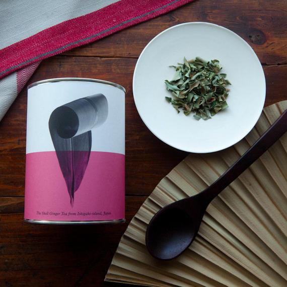 石垣島の香り華やか月桃茶(リーフ/缶)
