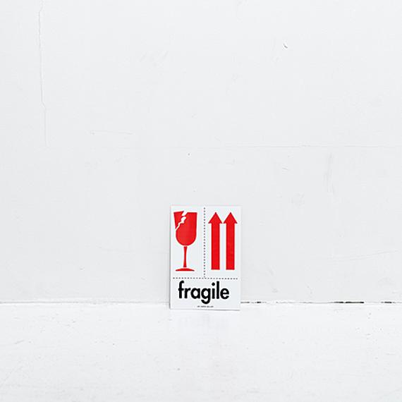 FRAGILE ステッカー