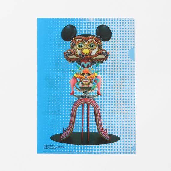 """クリアファイル 田名網敬一《身体装飾》/ Keiichi Tanaami """"Body Decoration"""" Clear Plastic Folder"""