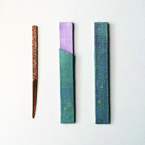 【数量限定セット】菓子切り「錆銹」 (銅、鞘・桐箱入り)小邦智美