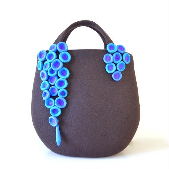 Grapes of sea bag♪ dark brown