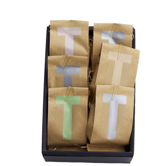 【お歳暮&WINTER GIFT】コーヒー豆6種セット