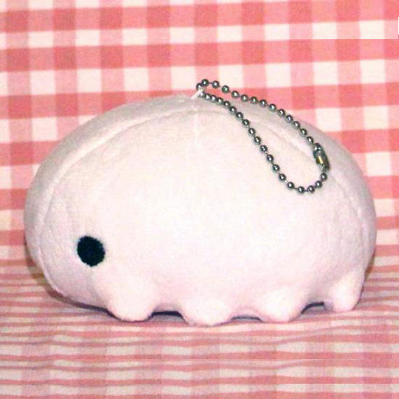 White Tardy Ball Chain (980 JPY)
