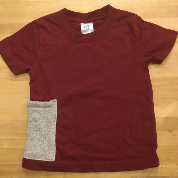 【Anti-weathers】    Anti-mosquite  Kid's  Tee  burgundy