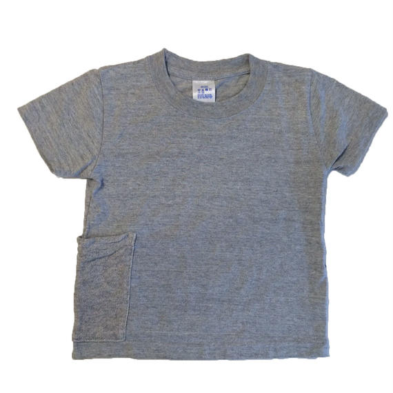 【Anti-weathers】    Anti-mosquite  Kid's  Tee    grey