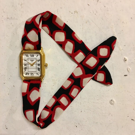 Rich Gone Broke ( Gold S Case- red b Liberty Strap)