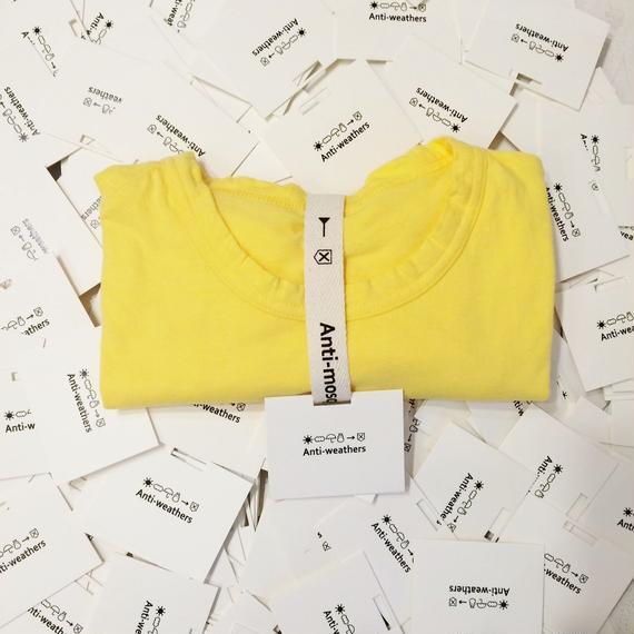 【Anti-weathers】    Anti-mosquite Tee    クルーネック yellow