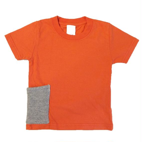 【Anti-weathers】    Anti-mosquite  Kid's  Tee    orange