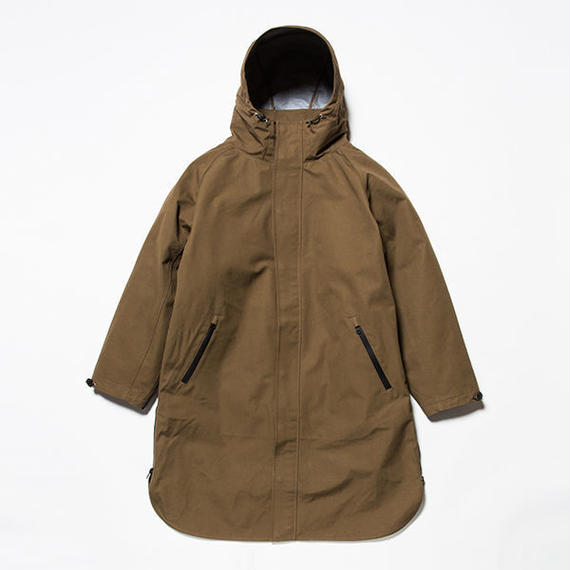 meanswhile 3 Layer Ventile Poncho Coat    KHAKI