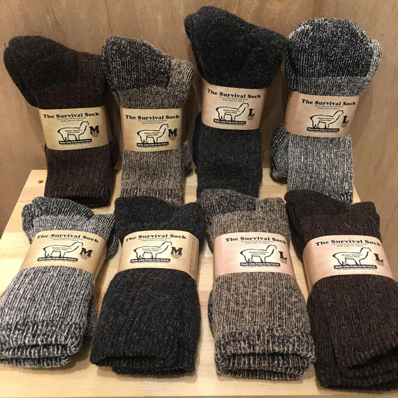 made in USA   ALPACA  SOCK
