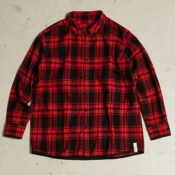 AlexanderLeeChang    SEO-L CHECK SHIRTS   RED