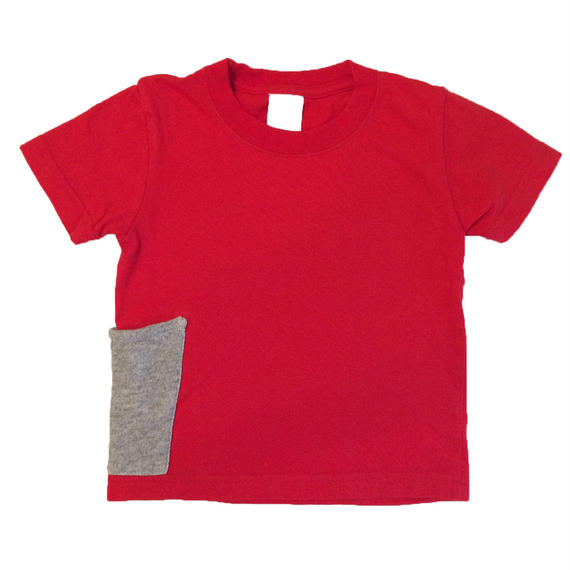 【Anti-weathers】    Anti-mosquite  Kid's  Tee    red