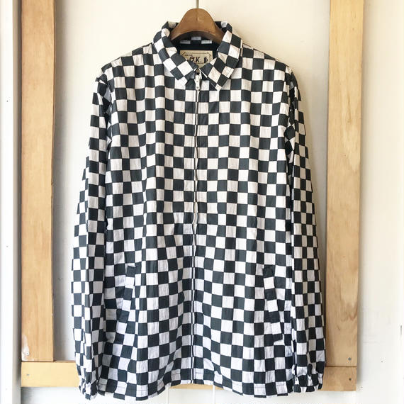 【O.K.】 CHECKER COACH JKT