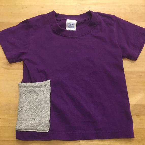 【Anti-weathers】    Anti-mosquito  Kid's  Tee   purple