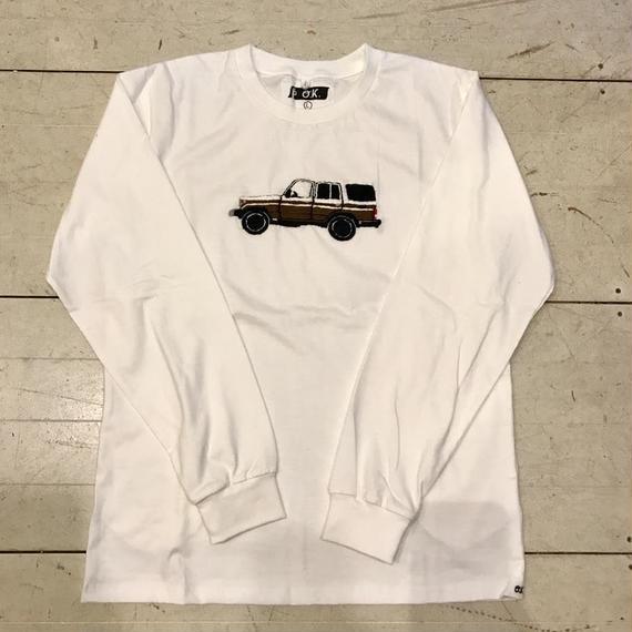 【OK】ランクル L/S TEE WHITE
