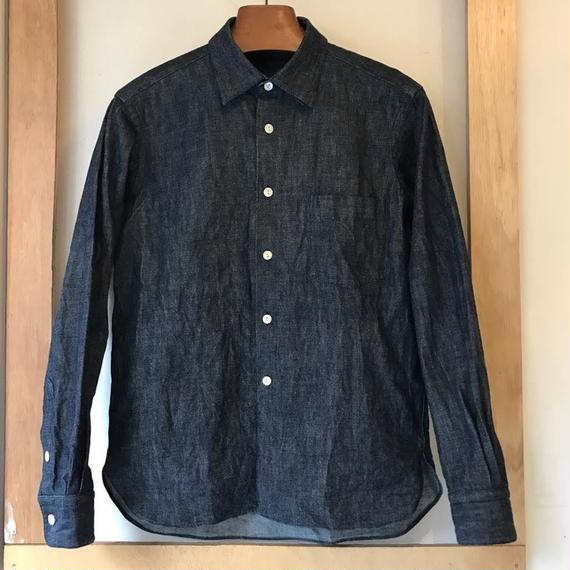 【Anti-weathers 】  d-less denim shirt