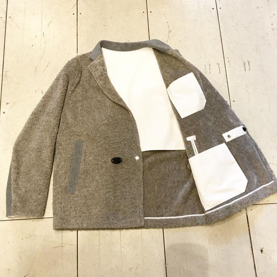 Y.O.N   Yak Short Coat Jacket