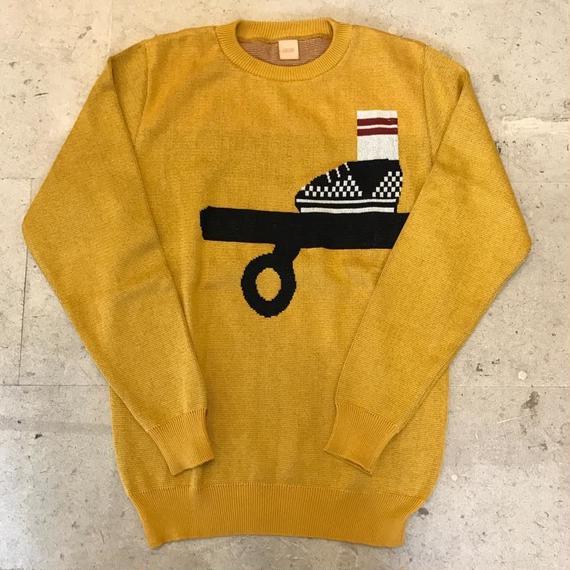 【OK】スケートニット Mustard