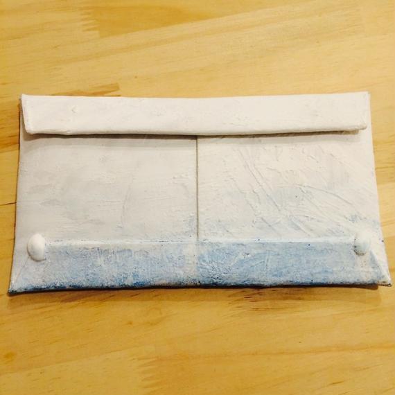 カガリユウスケ  タテイスカンナの壁 封筒型長財布