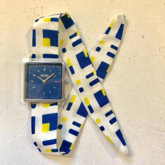 Rich Gone Broke ( blue 4Case -yel Liberty Strap)