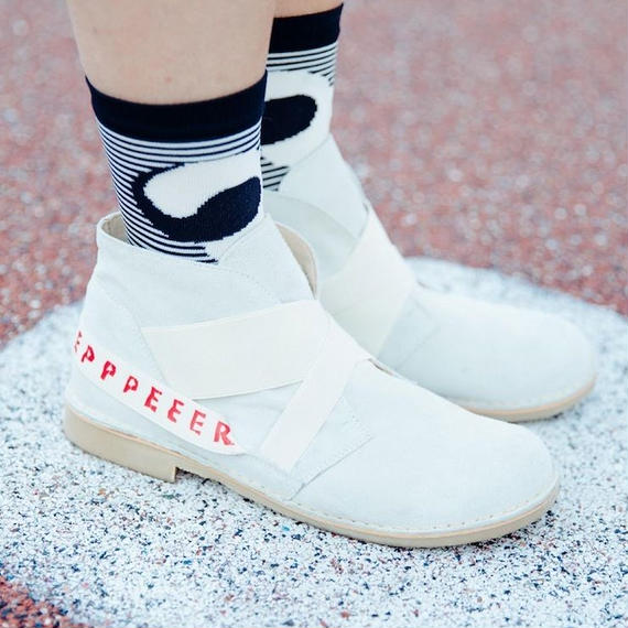 ★ HENRIK VIBSKOV - SLEEPERZ BOOT (WHITE) ★