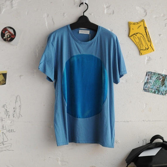 ★ CORRELL CORRELL (コレルコレル) / VELVET CIRCLE T SHIRTS  (LIGHT BLUE/SIZE / L) ★