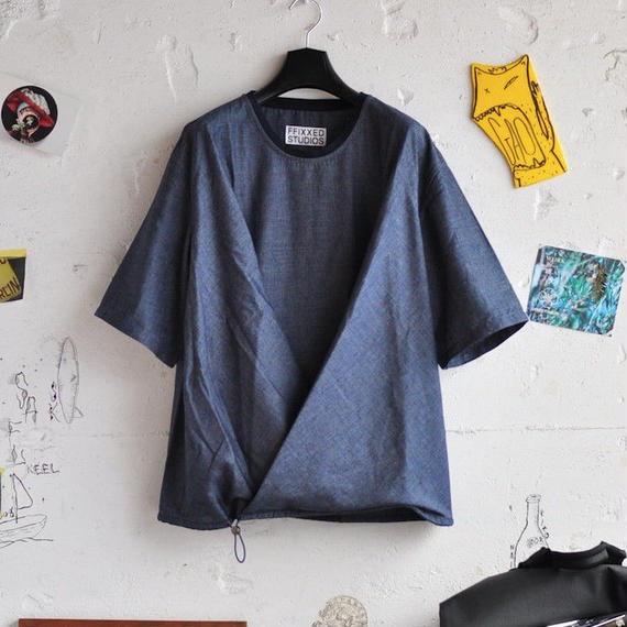 ★ FFIXXED STUDIOS / TUCK T SHIRT (BLUE) ★