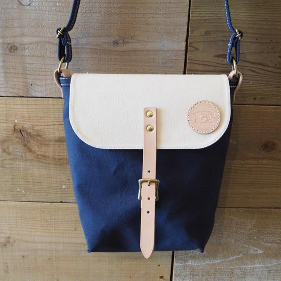 帆布ポスティングバッグ(ネイビー×ホワイト)