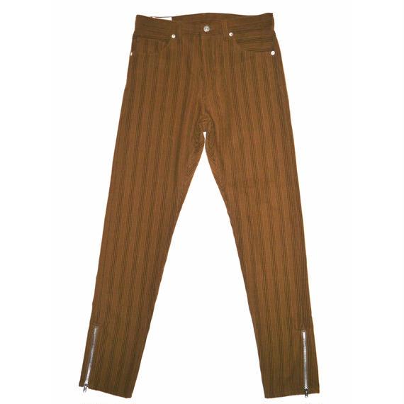 5 Pocket Corduroy Side Zip Pants.