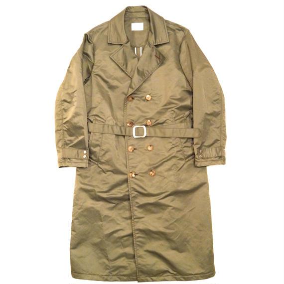 Nylon Twill Military Coat.