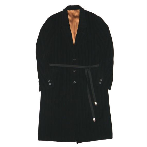 Corduroy Chesterfield Coat.