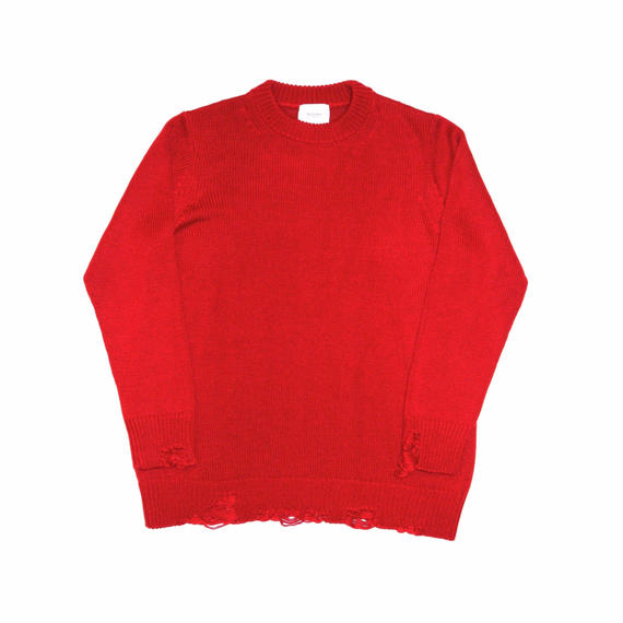 5G Crash Crew Neck Knit.