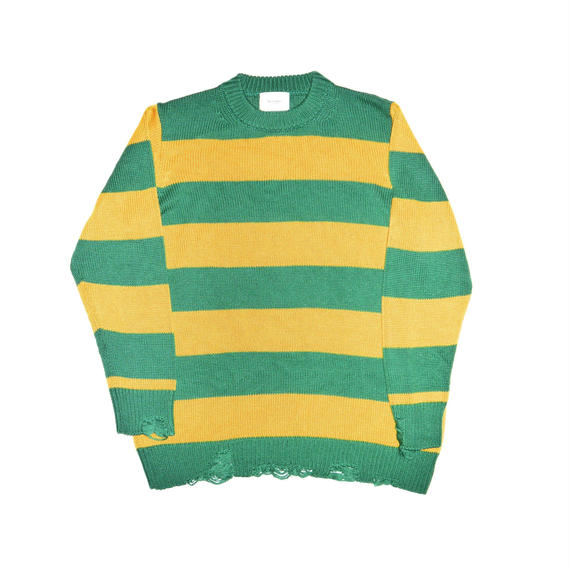 Border 5G Crash Crew Neck Knit.