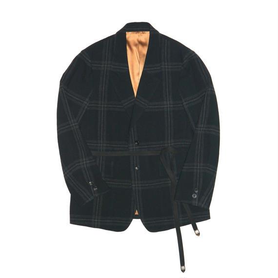 Blancket Single Breasted Jacket.