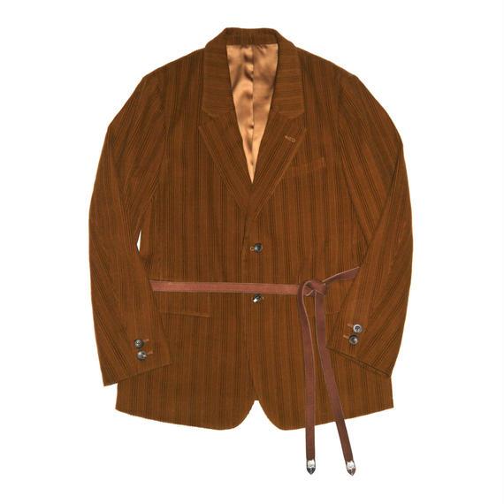 Corduroy Single Breasted Jacket.