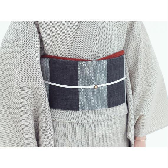 半巾帯 桐生 バイカラー