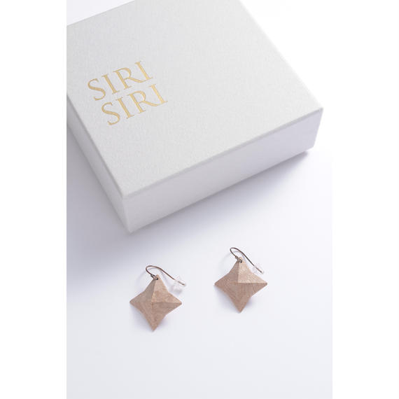 SIRISIRI WOOD Earrings DOUBLE STARS