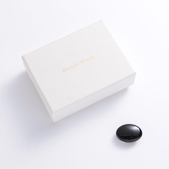 帯留 konichi kondo 黒