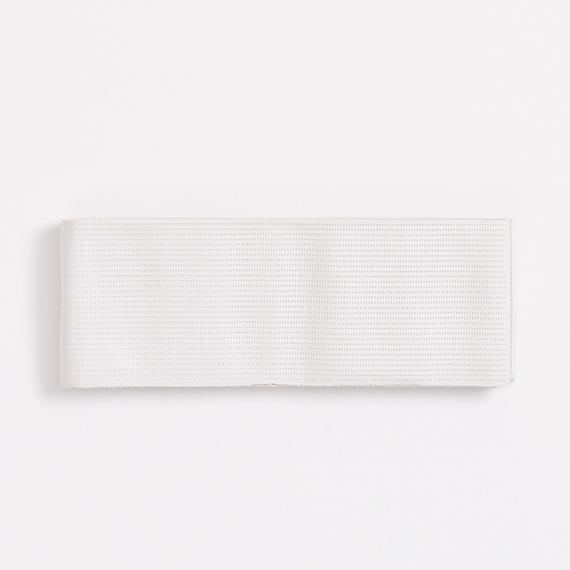 角帯 米沢 縞絽三寸 白