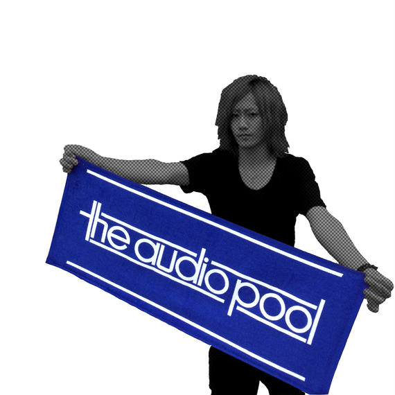 "the audio pool ""LOGO Towel ver.2 Navy"""