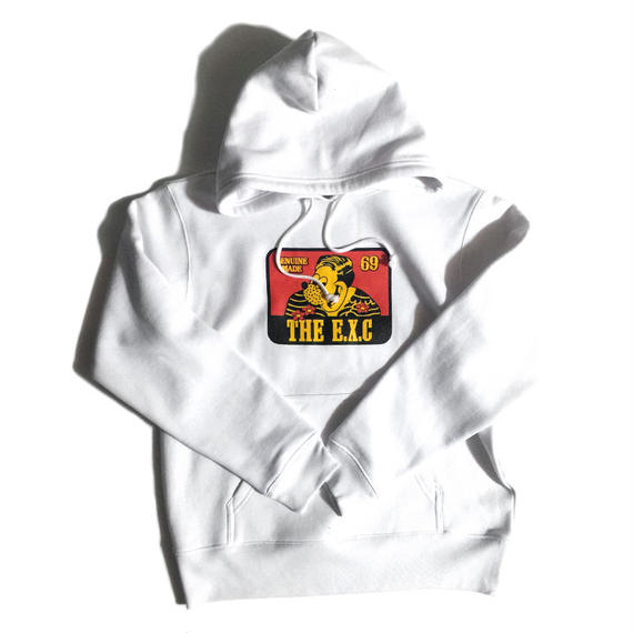 """TRADITIONAL"" (WHITE/HOODIE) #EXC-BSPK01"