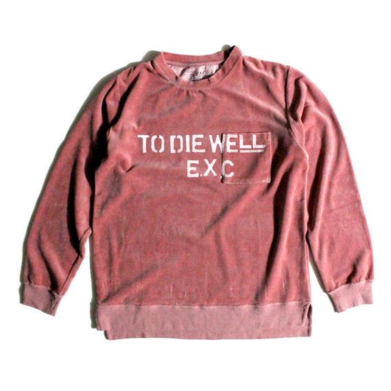 """""""TDW"""" (ベロアLTS/ピンク) #EXC-7LT04"""