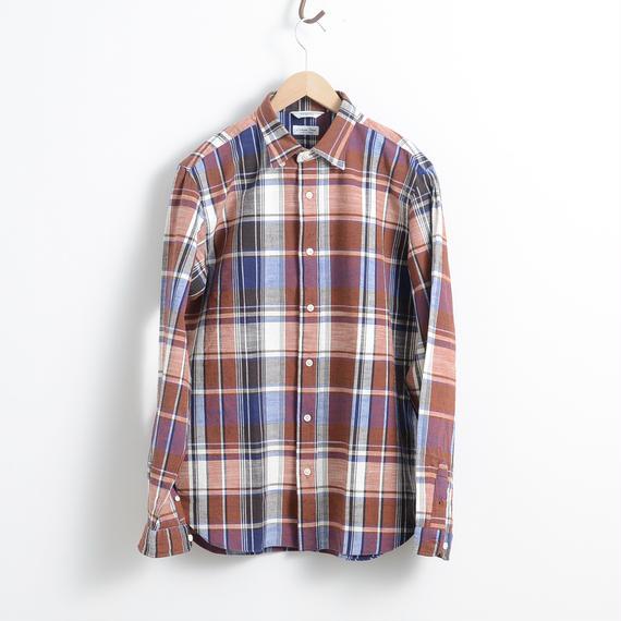 FUJITO / Madras B.D shirt