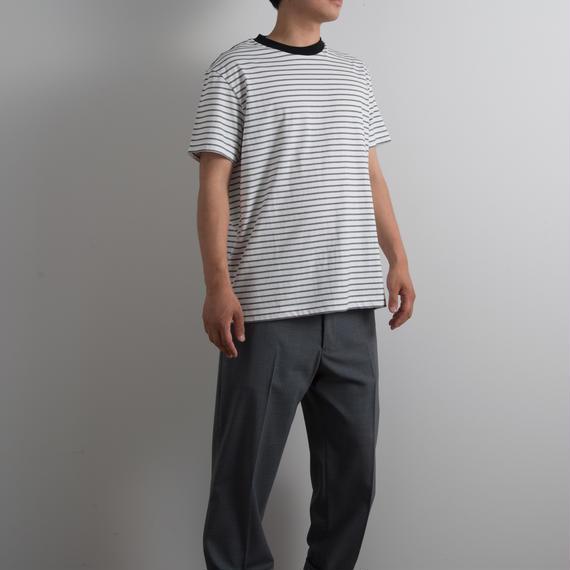 ALLEGE HOMME / Border T-shirt