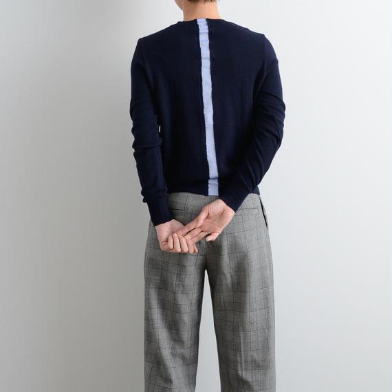nooy / シャツラインセーター