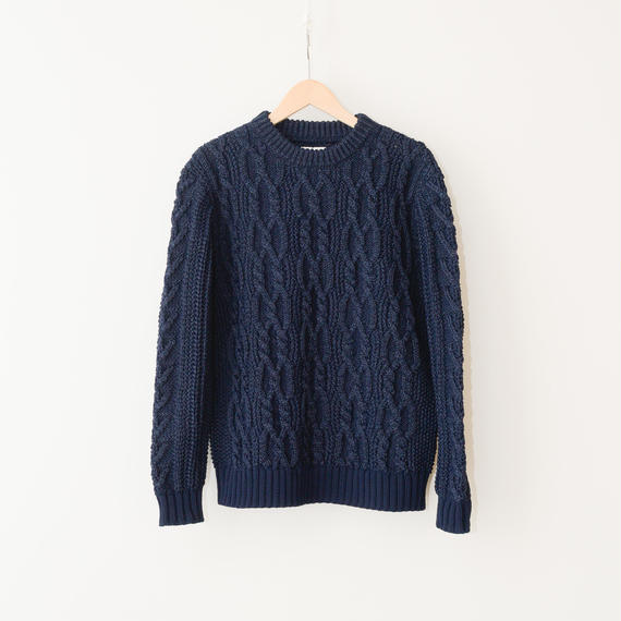 COOHEM / Stretch cable sweater