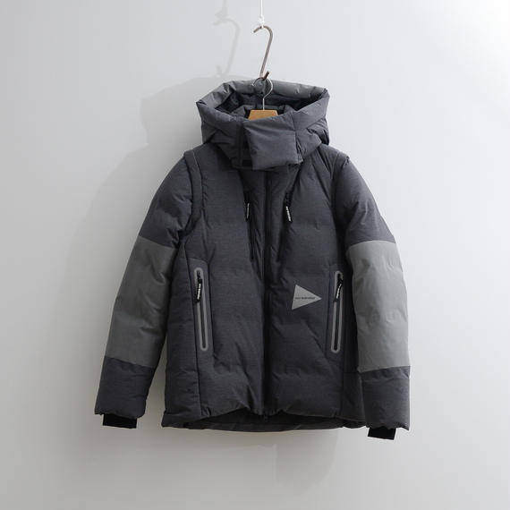 and wander / Heather rip down jacket