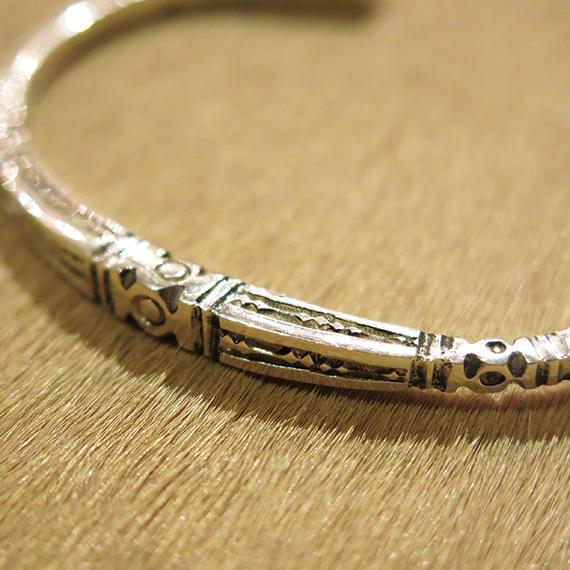 Touareg Silver  / Bangle03 / Silver100%