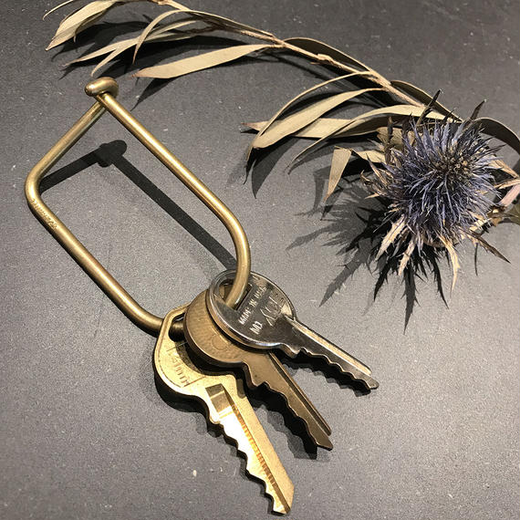 WINSON KEY RING BRASS